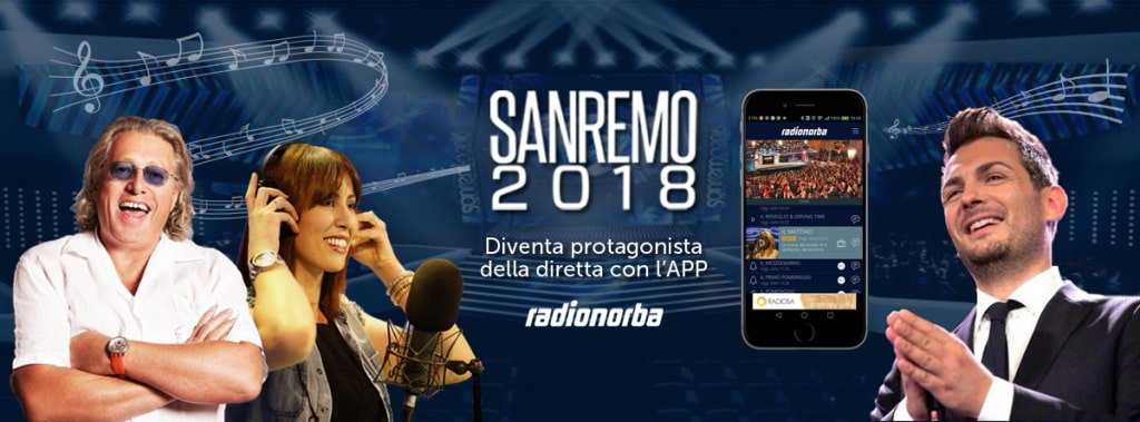 Sanremo Music Festival: Radio 4.0 will be on stage with Radionorba