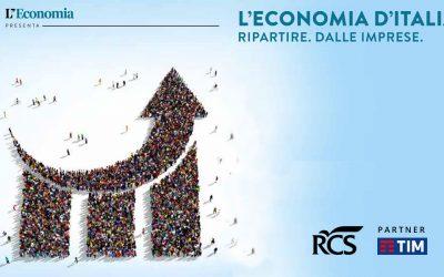 Radiosa invitata a «Economia d'Italia», il road show del Corriere della Sera