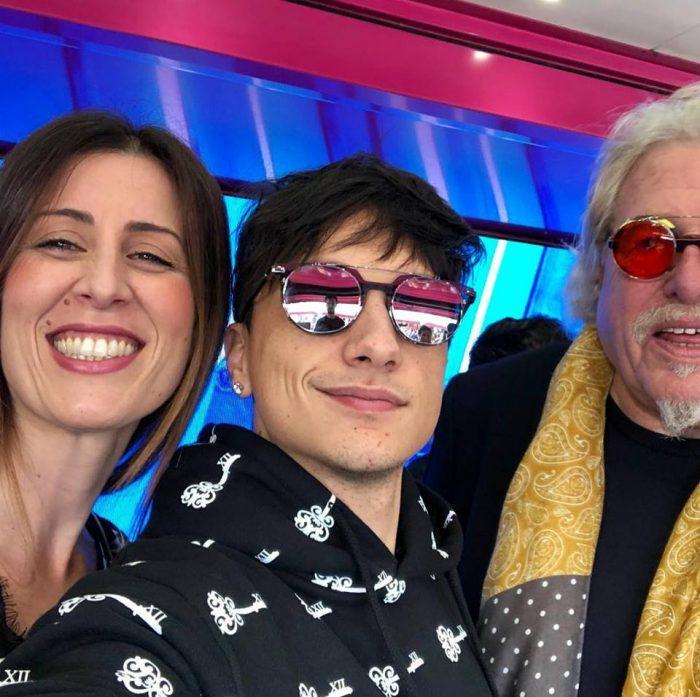 Ultimo intervistato a Sanremo da Radionorba