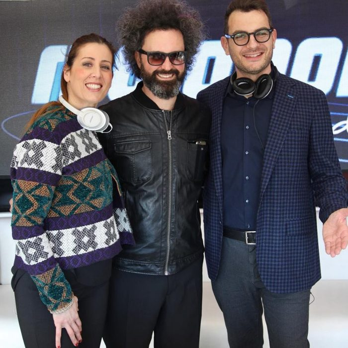 Alan e Veronica a Sanremo con Cristicchi