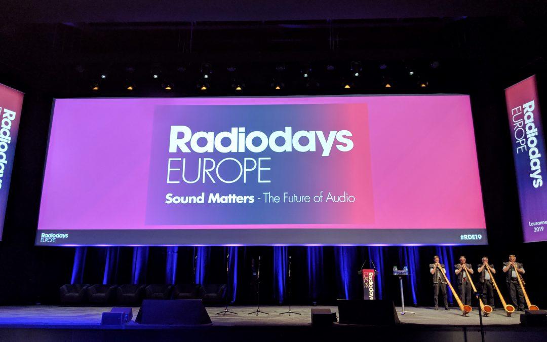 Sala Radiodays Europe