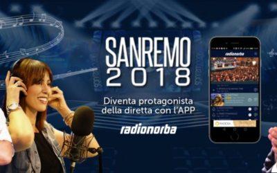Radio 4.0 va in scena a Sanremo con Radionorba